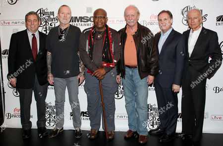 Editorial image of Announcement of The Allman Brothers Band Return to the Beacon Theatre, New York, America - 22 Nov 2010