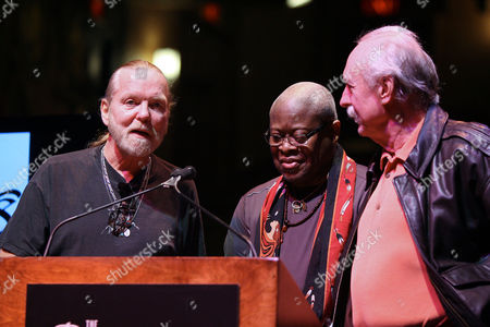 Gregg Allman, Jai Johanny Johanson and Butch Trucks (The Allman Brothers Band)
