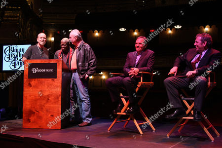 Editorial photo of Announcement of The Allman Brothers Band Return to the Beacon Theatre, New York, America - 22 Nov 2010