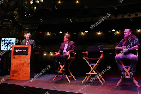James Dolan (Exec. Chairman, Madison Square Garden), Jay Marciano (President, MSG Entertainment) and Gregg Allman