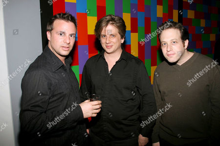 Daniel Roby and Rob Stefaniuk with Noam Rosen