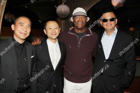 Stock Picture of Tony Leung, Darren Leung, Samuel L. Jackson, Wong Kar Wai