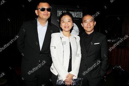 Wong Kar Wai, Esther Wong and Tony Leung
