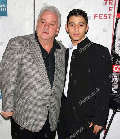 Vinny Vella and son Vinny Jnr