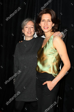 Iya Labunka (Producer) and Jessica Hecht