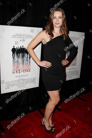 Editorial image of 'My Soul to Take' film screening, New York, America - 06 Oct 2010