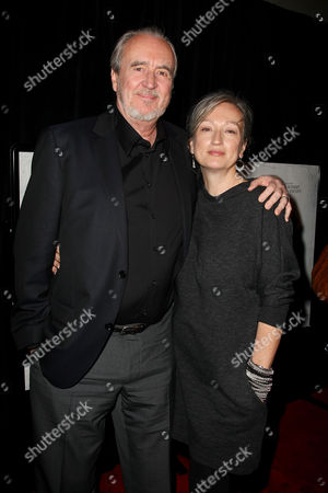 Wes Craven and wife Iya Labunka (Producer)