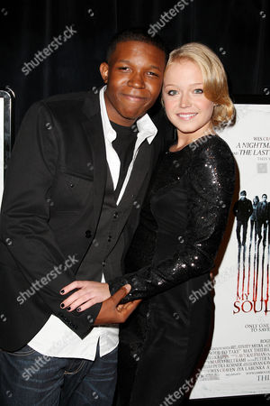 Stock Picture of Denzel Whitaker and Paulina Olszynski