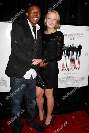 Stock Photo of Denzel Whitaker and Paulina Olszynski