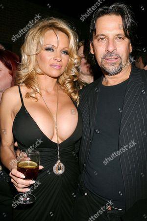 Pamela Anderson and Sante D''Orazio
