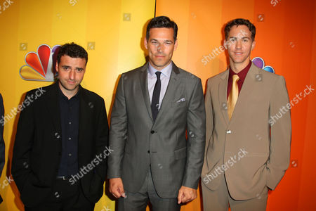 David Krumholtz, Eddie Cibrian and Wes Ramsey