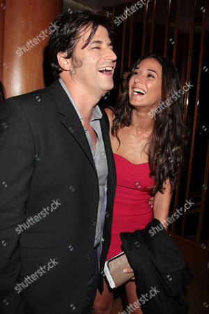 David A. Newman and Emmanuelle Chriqui