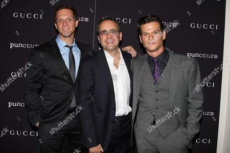 Stock Picture of Adam Kassen, Paul Danziger and Mark Kassen