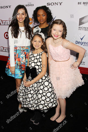 Editorial picture of 'Annie' film premiere, New York, America - 07 Dec 2014