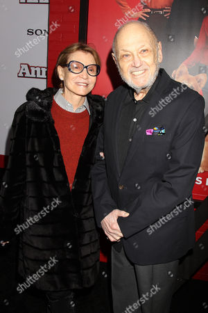 Barbara Siman and Charles Strouse (Composer; Annie)