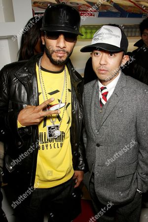 Swizz Beatz and Nigo (co-owner)