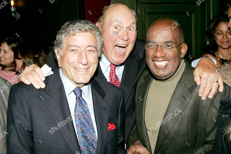 Tony Bennett, Willard Scott and Al Roker