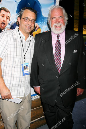 Jack Giarraputo and Jeff Blake