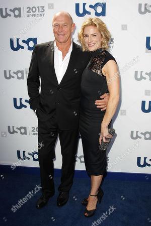 Corbin Bernsen and Kirsten Nelson