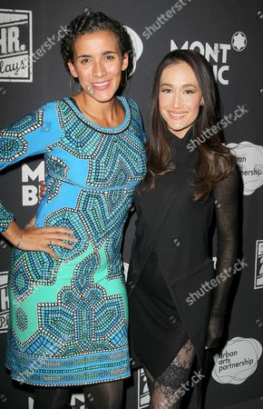 Stock Image of Patricia McCregor and Maggie Q