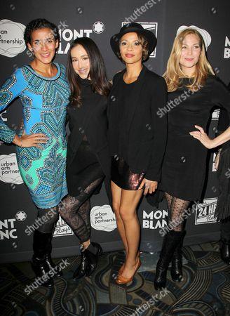 Stock Picture of Patricia McCregor, Maggie Q, Carmen Ejogo and Jennifer Westfeldt