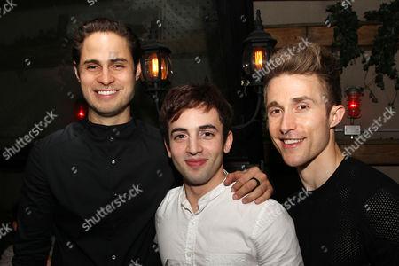 Marc Sinoway, Ronald Lopez and Ben Baur