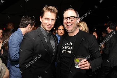 Stock Photo of Pressly Coker and Jon Marcus