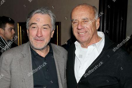 Robert De Niro and Ralph Gibson