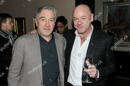 Stock Picture of Robert De Niro and Walton Ford