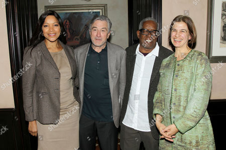 Stock Photo of Grace Hightower, Robert De Niro, Stanley Whitney and Marina Adams