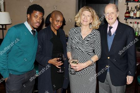 Guest, Thelma Golden, Ilene Newman and Eli Evans