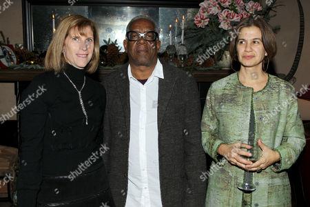 Patty Newburger, Stanley Whitney and Marina Adams
