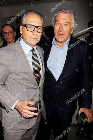 Jerry Inzerillo and Robert De Niro