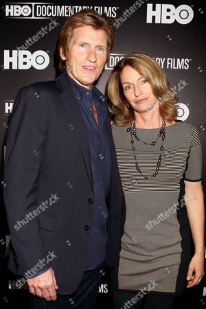 Stock Image of Denis Leary and Ann Lembeck