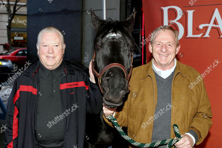 Producer Fred Roos and Black Stallion with Director Simon Wincer