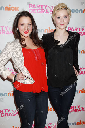 Editorial image of 'Degrassi' episode screening party, New York, America - 18 Feb 2012