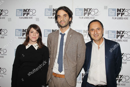 Stock Picture of Katie Stern (Producer), Alex Ross Perry (Director/Screenwriter) and Josh Blum (Producer)