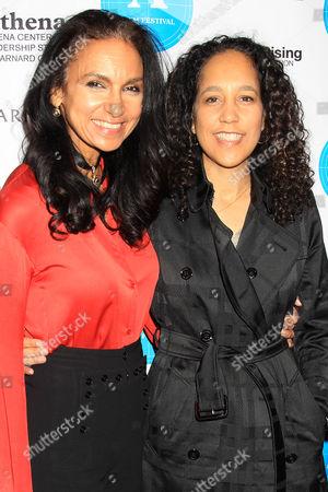 Susan Fales-Hill and Gina Prince-Bythewood