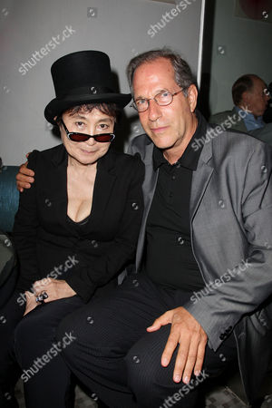 Stock Picture of Yoko Ono and Stanley Buchthal (Executive Producer)
