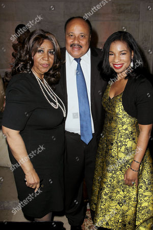 Aretha Franklin, Martin Luther King Jr lll, Arndrea Waters King