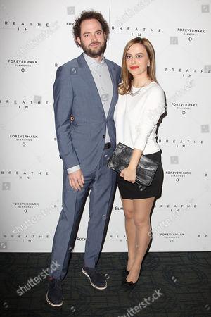 Stock Picture of Drake Doremus and Alana Morshead