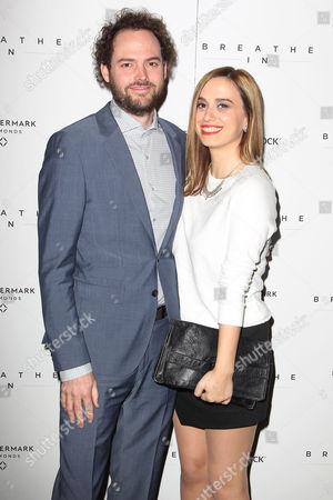 Stock Image of Drake Doremus and Alana Morshead