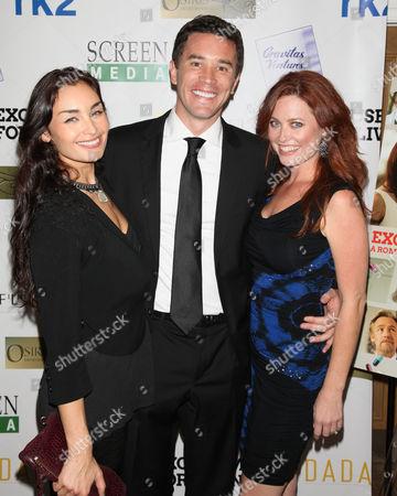Ewa Da Cruz, Tom Pelphrey and Melissa Archer