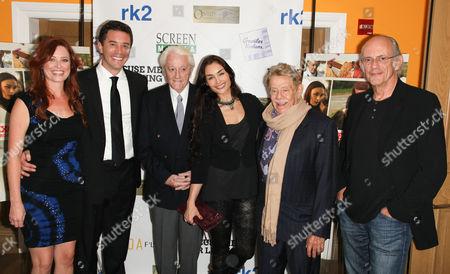 Stock Picture of Ric Klass, Melissa Archer, Tom Pelphrey, Robert Vaughn, Ewa Da Cruz, Jerry Stiller and Christopher Lloyd