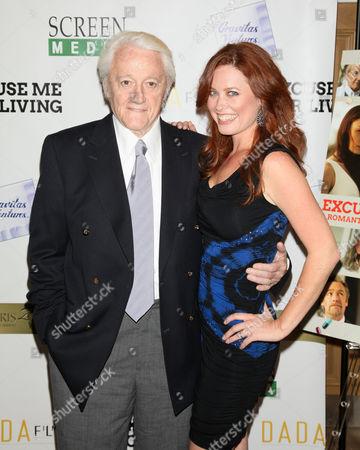 Robert Vaughn and Melissa Archer