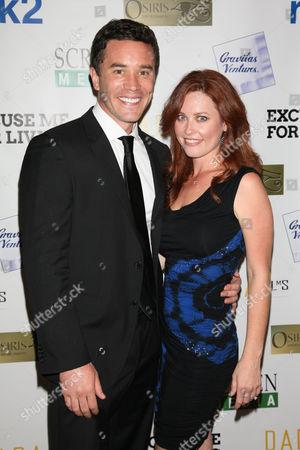Tom Pelphrey and Melissa Archer