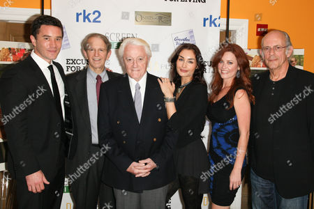 Stock Picture of Tom Pelphrey, Ric Klass, Robert Vaughn, Ewa Da Cruz, Melissa Archer and Christopher Lloyd