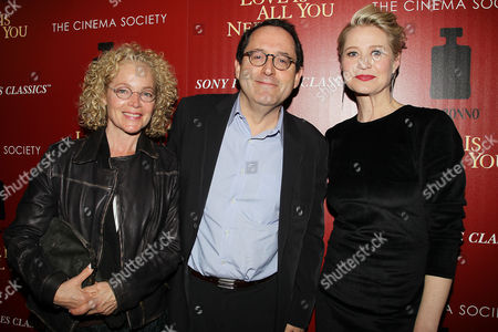 Amy Irving, Michael Barker and Trine Dyrholm