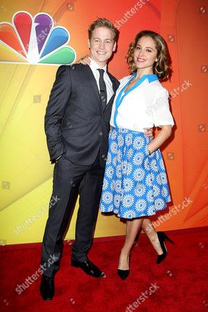 Gavin Stenhouse and Margarita Levieva