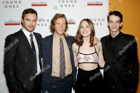 Nicholas Hoult, Jake Paltrow (Director), Elle Fanning, Kodi Smit-McPhee